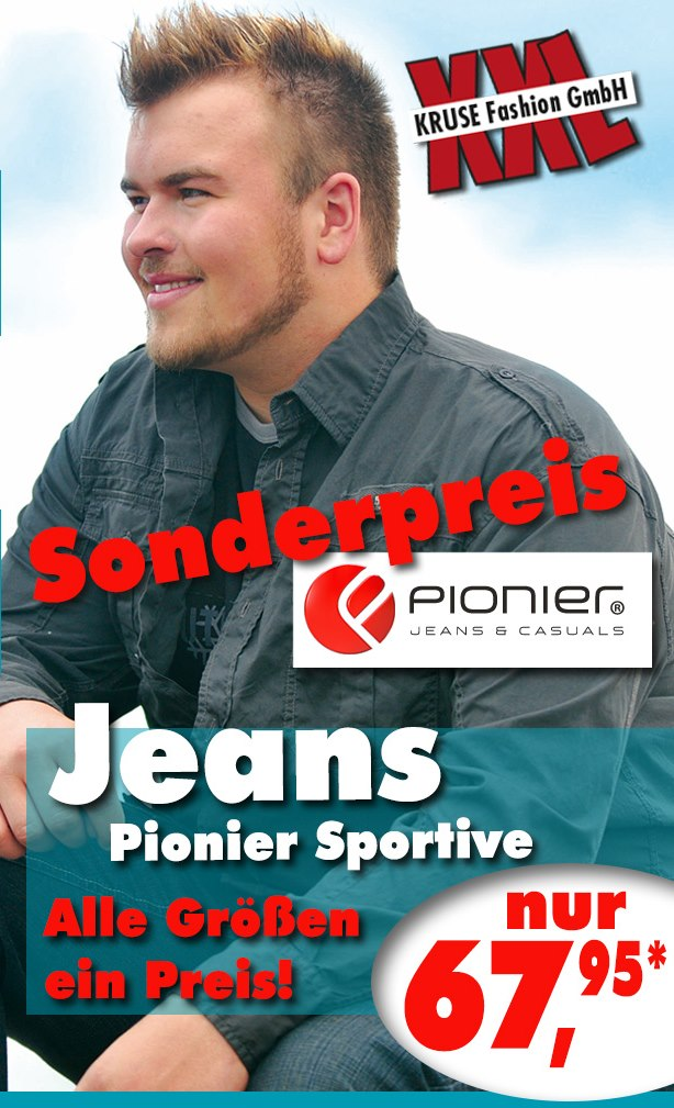 Pionier Jeans Aktion