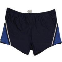Boxer Badehose in Kastenform Blau-royal