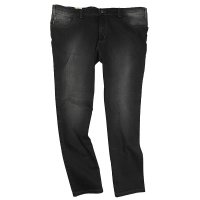 Pionier Stretchjeans in �bergr��e Blackused
