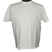 Basic T-Shirt weiß 9XL