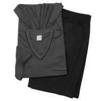 GUSTAV Adamo Pyjama in anthrazit, Übergröße