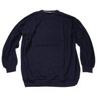 Übergrößen Sweatshirt von Ahorn   Blau