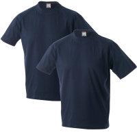 MARLON Adamo T-Shirt im Doppelpack, blau