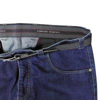 Dunkelblaue Jeans von Murk in Übergröße