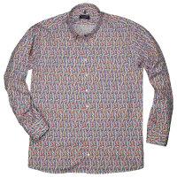 Haupt Langarmhemd mit Konfetti Muster