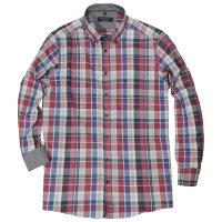 Kariertes Casamoda Hemd in Übergröße