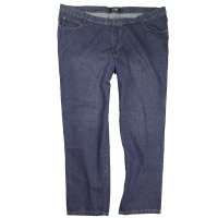 Jeans ohne Stretch Rinsewashed 56