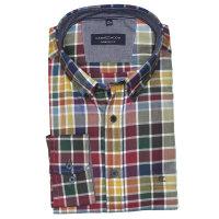 Casamoda bunt kariertes Hemd in Übergröße