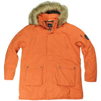 Orange farbener funktions Winterparka von Allsize