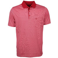 M.C Poloshirt große Größen rot