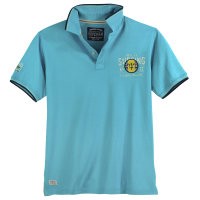 Poloshirt in Übergröße blau Redfield
