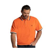 JP1880 Polohemd in großen Größen   orange