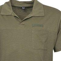 Allsize Replika Kurzarm Poloshirt in...