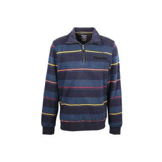 Monte Carlo Polo Sweatshirt in Übergröße | Blau