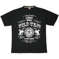 """Honeymoon T-Shirt """"Wild West"""" schwarz"""