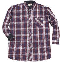 Kamro Übergrößen Hemd in modischem Karo