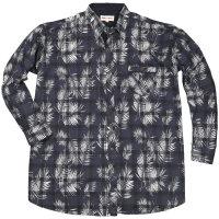 Kamro Hemd mit Blumendruck in Übergröße