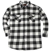 Kamro Holzfällerhemd weiß 8XL