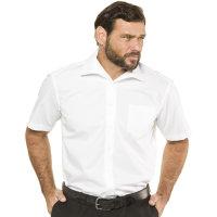 JP1880 Kurzarm Hemd in Übergröße mit...