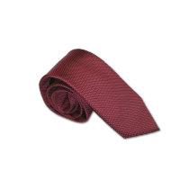 Seidenfalter Krawatte extra lang rot
