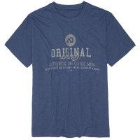 Denim T-Shirt von Adamo in Übergröße | blau