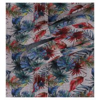 Langarm Hemd florales buntes Muster Casamoda   Übergröße