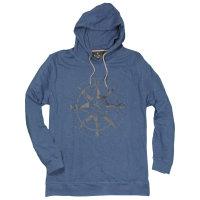 Blaues Hoodysweatshirt von Kitaro in...