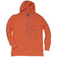 Kitaro Hoody Sweatshirt in Übergröße |...