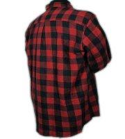Holzfällerhemd Kamro in Übergröße | rot