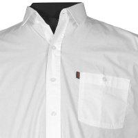 Weißes Langarm Cityhemd von Kamro weiß