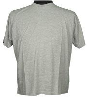 Honeymoon Basic T-Shirt Grau 8XL