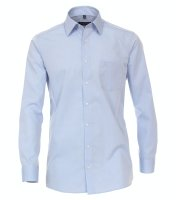 Casamoda Businesshemd lang blau 51/52 = 5XL