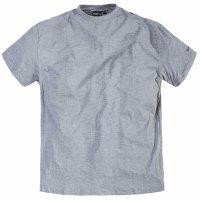 T-Shirt Grau in Übergröße von Allsize