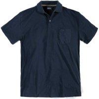 Blaues XXL Polohemd von Allsize North